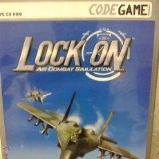 Videojuegos y Consolas: JUEGO PC CD ROM LOCK ON. Lote 45828716