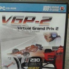 Videojuegos y Consolas: JUEGO PC CD ROM VGP-2 VIRTUAL GRAN PRIX 2. Lote 45828761