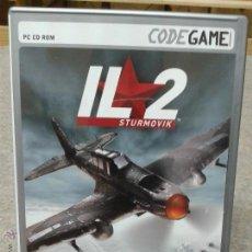 Videojuegos y Consolas: JUEGO PC CD ROM IL2 STURMOVIK. Lote 45839233