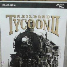 Videojuegos y Consolas: JUEGO PC CD ROM RAILROAD TYCOON II. Lote 45839251