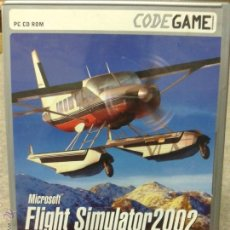 Videojuegos y Consolas: JUEGO PC CD ROM MICROSOFT FLIGHT SIMULATOR 2002. Lote 45839263