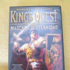 Videojuegos y Consolas: KING`S QUEST (MASCARA DE ETERNIDAD) JUEGO PC. Lote 45967859