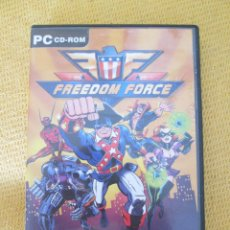Jeux Vidéo et Consoles: FREEDOM FORCE - JUEGO PC. Lote 97445306