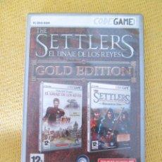 Videojuegos y Consolas: THE SETTLERS. EL LINAJE DE LOS REYES. Lote 45983958