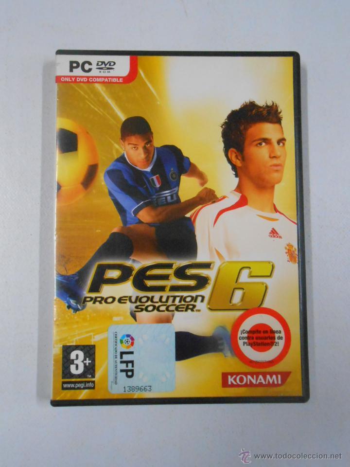 PES 6 PRO EVOLUTION SOCCER  PC  DVD ROM  TDKV1