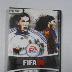 Videojuegos y Consolas - FIFA 08 PC DVD ROM. EA SPORTS. TDKV2 - 46062770