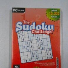 Videojuegos y Consolas: THE SUDOKU CHALLENGE. PC CD-ROM. TDKV2. Lote 46069386