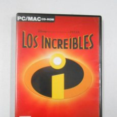Videojuegos y Consolas: PC LOS INCREIBLES PC/MAC CD-ROM. TDKV2. Lote 46071452