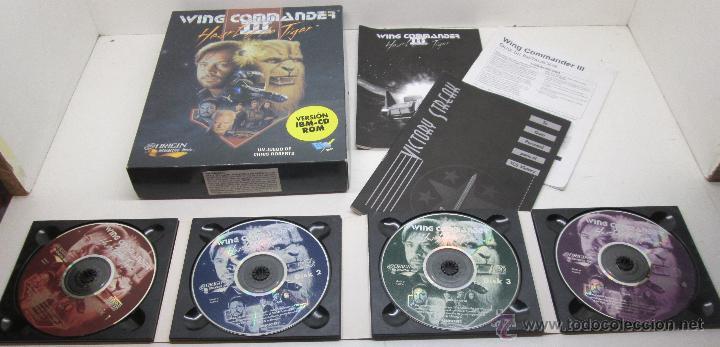 JUEGO PC WING COMMANDER III , HEART OF THE TIGER , DROSOFT ESPAÑOL (Juguetes - Videojuegos y Consolas - PC)