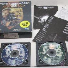 Videojuegos y Consolas: JUEGO PC WING COMMANDER III , HEART OF THE TIGER , DROSOFT ESPAÑOL. Lote 46128012