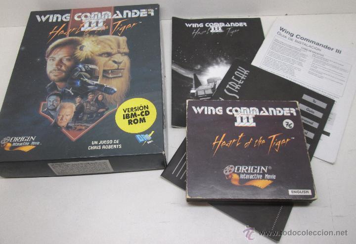 Videojuegos y Consolas: Juego PC WING COMMANDER III , HEART OF THE TIGER , DROSOFT español - Foto 2 - 46128012