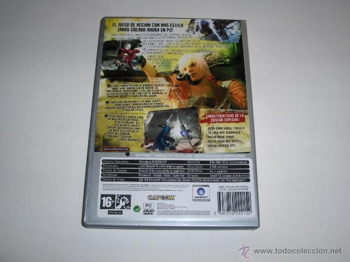 Videojuegos y Consolas: JUEGO PC DEVIL MAY CRY 3 DANTE'S AWAKENING ESPECIAL EDICION - Foto 2 - 46582425