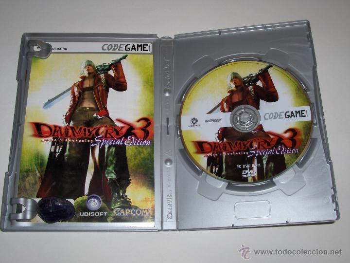 Videojuegos y Consolas: JUEGO PC DEVIL MAY CRY 3 DANTE'S AWAKENING ESPECIAL EDICION - Foto 3 - 46582425