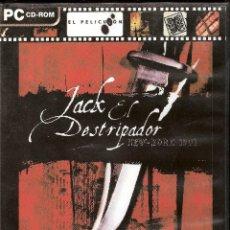 Videojuegos y Consolas: JUEGO PC JACK EL DESTRIPADOR AVENTURA GRAFICA ESPAÑOL 2 CD NEW YORK 1901. Lote 46582495