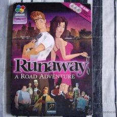 Videojuegos y Consolas: RUNAWAY 1 A ROAD ADVENTURE - PC - AVENTURA GRÁFICA - COMPLETO - BUEN ESTADO. Lote 46717375
