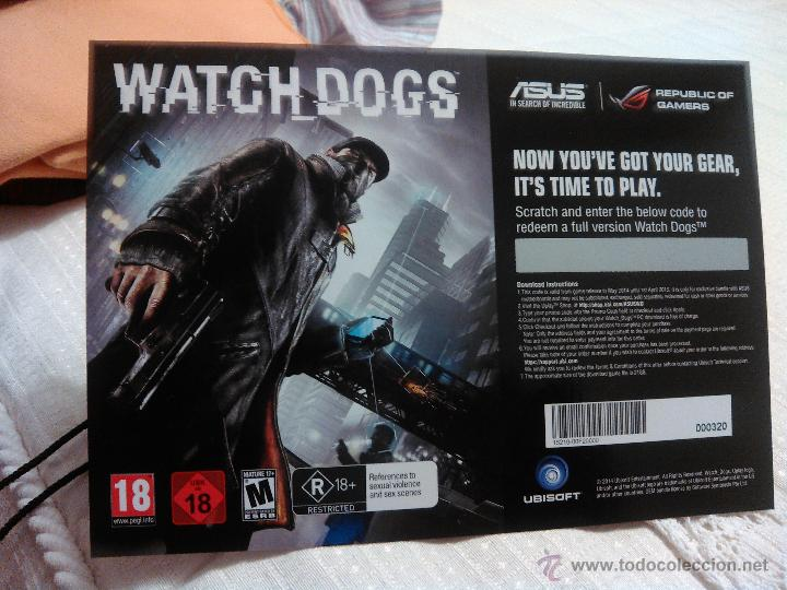 Watch Dogs Juego Para Pc A Descargar Con Codig Comprar