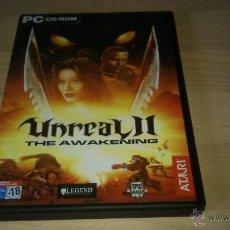 Videojuegos y Consolas: JUEGO PC - UNREAL II THE AWAKENING -. Lote 47075320