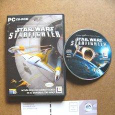 Videojuegos y Consolas: JUEGO DE PC STAR WARS STARFIGHTER - VIDEOJUEGO DE LUCASARTS LUCAS ARTS PARA ORDENADOR. Lote 47154410