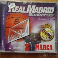Videojuegos y Consolas: JUEGO BALONCESTO PC - CD ROM WINDOWS TM 95 COMPATIBLE 98 , REAL MADRID BASKET 99 PRECINTADO . Lote 47457752