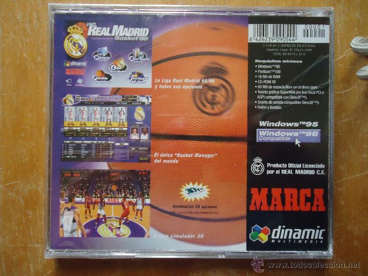 Juego Baloncesto Pc Cd Rom Windows Tm 95 Comp Comprar
