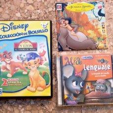Videojuegos y Consolas: VARIOS JUEGOS INFANTILES. Lote 47646004