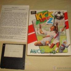 Videojuegos y Consolas: JUEGO KICK OFF 2 PC - 3 1/2. Lote 47760506