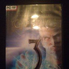 Videojuegos y Consolas: JUEGO PARA PC GOTHIC 3 MUY NUEVO. Lote 47823934