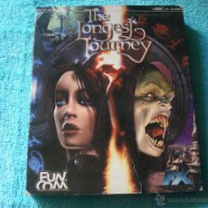 Videojuegos y Consolas: THE LONGEST JOURNEY PC CD ROM 4CD LEER. Lote 47897737