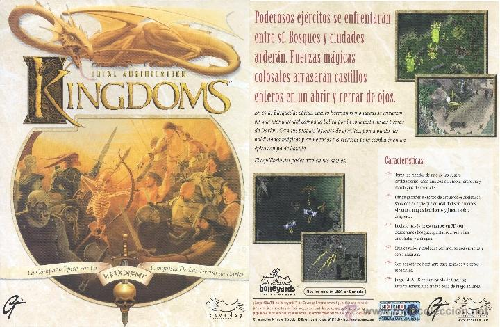 JUEGO PC CD-ROM - KINGDOMS TOTAL ANNIHILATION (Juguetes - Videojuegos y Consolas - PC)