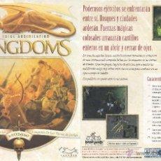 Videojuegos y Consolas: JUEGO PC CD-ROM - KINGDOMS TOTAL ANNIHILATION. Lote 48164377