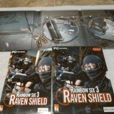 Videojuegos y Consolas: PC RAINBOW SIX 3. RAVEN SHIELD. Lote 48214188
