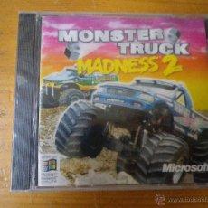 Videojuegos y Consolas: JUEGO PC MONSTER TRUCK MADNSES2. Lote 48354850