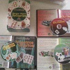 Videojuegos y Consolas: 3 CD ROOM´S OMNIMEDIA , NUESTROS MEJORES SOLITARIOS JUEGOS COMPLETOS CASTELLANO ORIGINAL - CARTAS. Lote 48388252