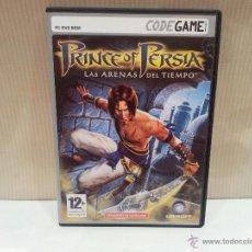 Videojuegos y Consolas: VIDEO JUEGO PRINCE OF PERSIA PARA PC CD-ROM LAS ARENAS DEL TIEMPO. Lote 48493946