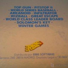 Videojuegos y Consolas: ANTIGUO LOTE,VIDEO JUEGOS PARA PC.DE DISKETTE.AÑO:1988. Lote 48680234