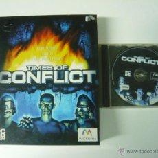 Videojuegos y Consolas: TIMES OF CONFLICT / JUEGO PC ORDENADOR / CAJA GRANDE CARTÓN / BIG BOX. Lote 48929204