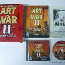 Videojuegos y Consolas: ART OF WAR II / JUEGO PC ORDENADOR / CAJA GRANDE CARTÓN / BIG BOX. Lote 48938099