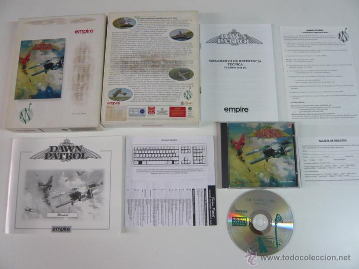 DAWN PATROL / JUEGO PC ORDENADOR / CAJA GRANDE CARTÓN / BIG BOX (Juguetes - Videojuegos y Consolas - PC)