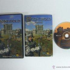 Videojuegos y Consolas: STRONGHOLD / JUEGO PC ORDENADOR . Lote 48938665