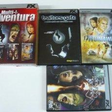 Videojuegos y Consolas: PACK MULTI AVENTURA / JUEGO PC ORDENADOR . Lote 48938705