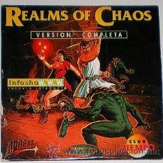 Videojuegos y Consolas: REALMS OF CHAOS [APOGEE] 1995 [FRIENDWARE] [CLUB TIEMPO] [PC CDROM]. Lote 49161858