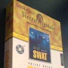Videojuegos y Consolas: JUEGO PARA ORDENADOR PC DE 1995 POLICE QUEST SWAT DE SIERRA ORIGINALS . Lote 49260379