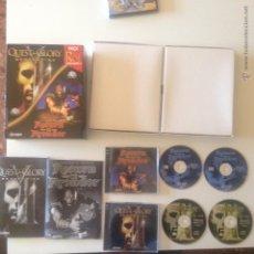 Videogiochi e Consoli: PACK DE 2 JUEGOS DE PC RETURN TO KRONDOR Y QUEST FOR GLORY V. Lote 49383968