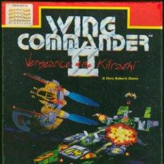 Videojuegos y Consolas: ANTIGUO JUEGO DE ORDENADOR WING COMMANDER II VENGEANCE OF THE KILRATHI, MINDSCAPE, COMPLETO EN CAJA.. Lote 49434460