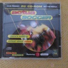 Videojuegos y Consolas: JUEGO PC - ACTUA SOCCER. Lote 49692914