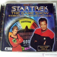 Videojuegos y Consolas: VIDEOJUEGO COMPLETO STAR TREK THE GAME SHOW (PC) SOUNDSOURCE, 1997. Lote 49848787