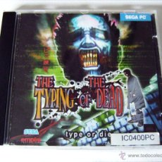Videojuegos y Consolas: VIDEOJUEGO ORIGINAL THE TYPING OF THE DEAD (PC) SEGA, 2000. Lote 49848978