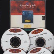 Videojuegos y Consolas: POLICE QUEST SWAT DE SIERRA ORIGINALS , 4 CDS ( JUEGO PARA PC ). Lote 49926023