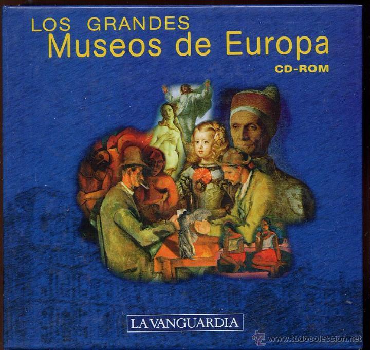 14 CDROMS COLECCION LOS GRANDES MUSEOS DE EUROPA DE LA VANGUARDIA (Juguetes - Videojuegos y Consolas - PC)