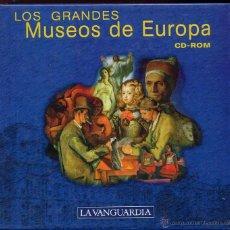 Videojuegos y Consolas: 14 CDROMS COLECCION LOS GRANDES MUSEOS DE EUROPA DE LA VANGUARDIA. Lote 49965028